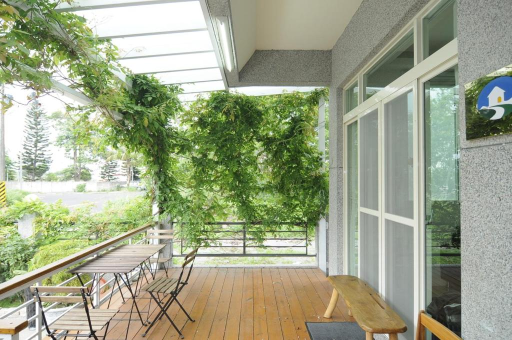 A balcony or terrace at 3520 Homestay