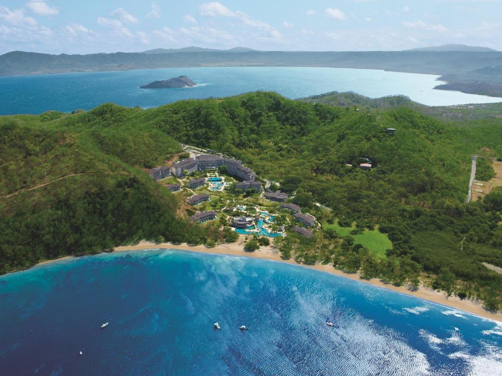 A bird's-eye view of Dreams Las Mareas All Inclusive