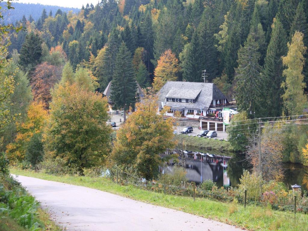 Blick auf Klosterweiherhof aus der Vogelperspektive
