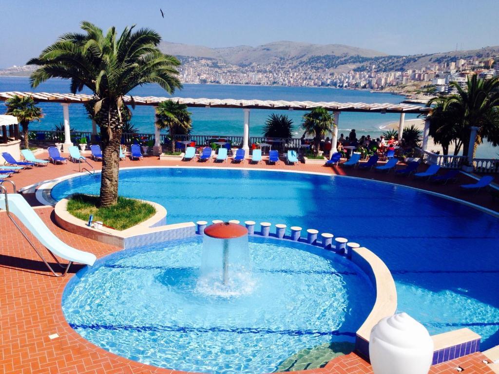 The swimming pool at or near Hotel Dodona