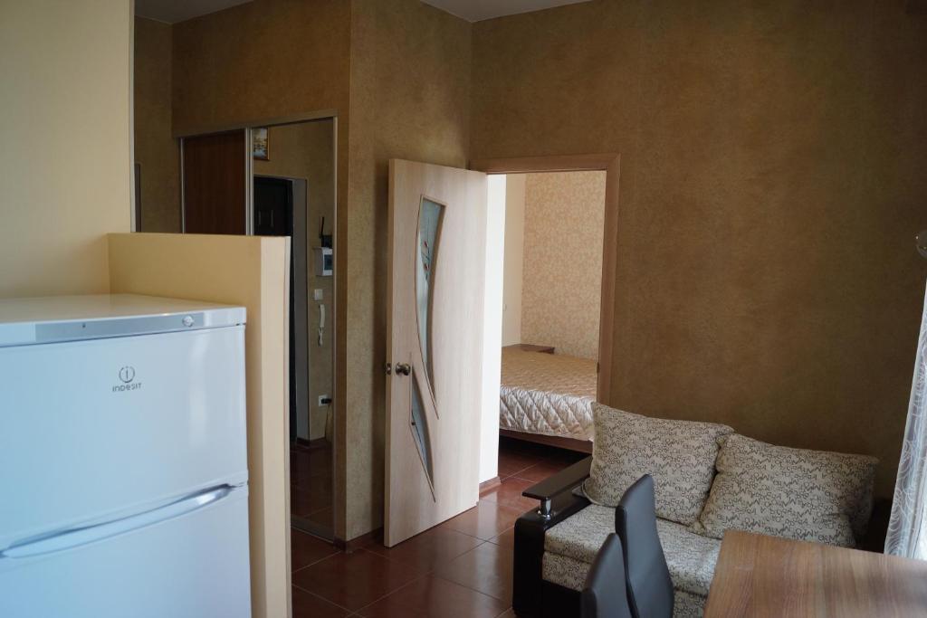 Гостиная зона в Apartment na Krymskoy 77