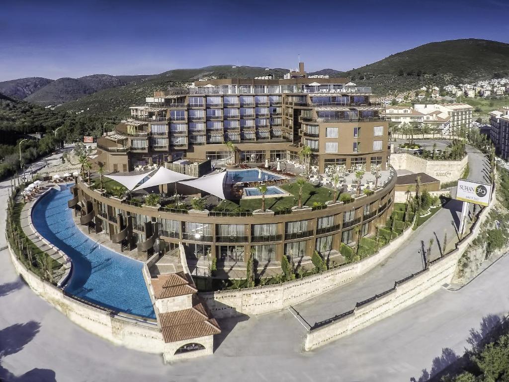 Suhan360 Hotel & Spa a vista de pájaro