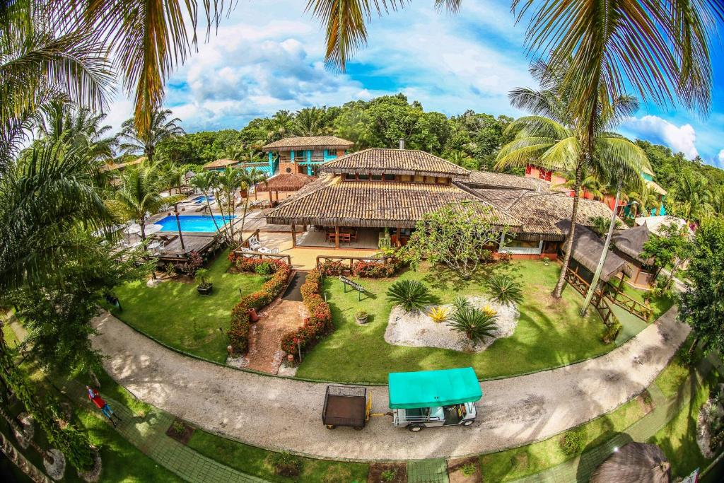 A view of the pool at Ecoporan Hotel Charme Spa & Eventos or nearby
