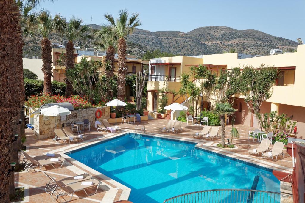 Πισίνα στο ή κοντά στο Latania Apartments