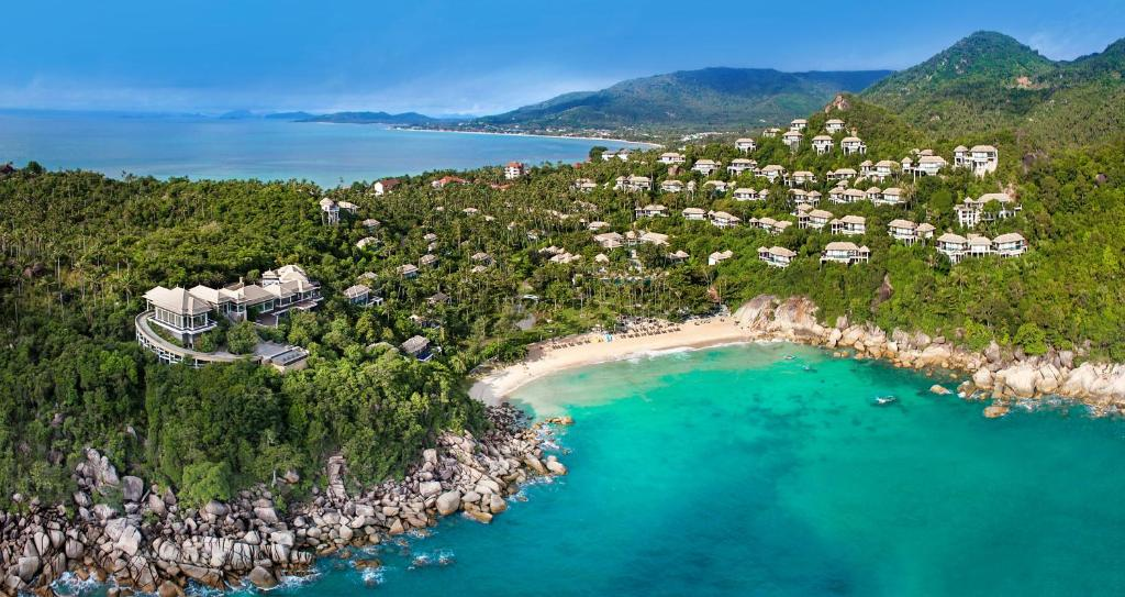 A bird's-eye view of Banyan Tree Samui