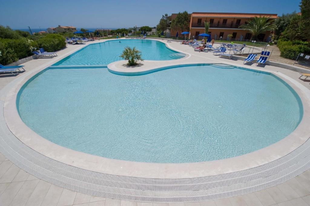 The swimming pool at or near Hotel Cala Reale