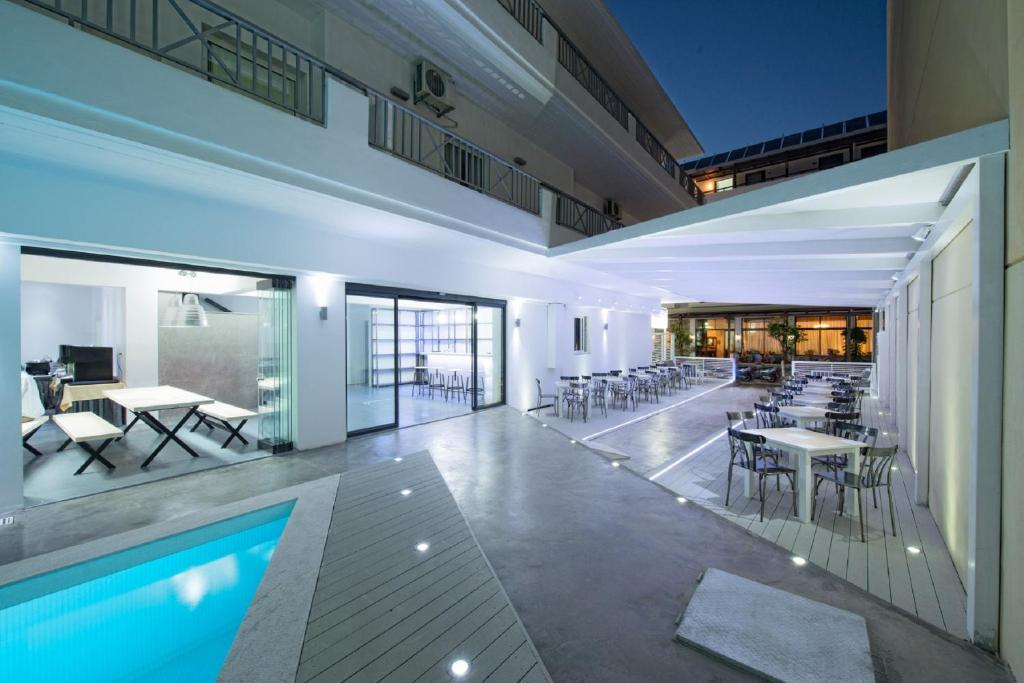 The swimming pool at or near Fedra Boutique Apartments