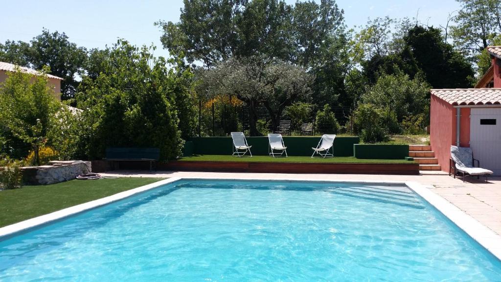 The swimming pool at or near Mano&Nino