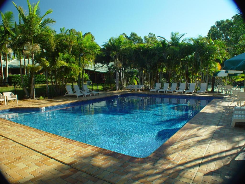The swimming pool at or near Brisbane Gateway Resort
