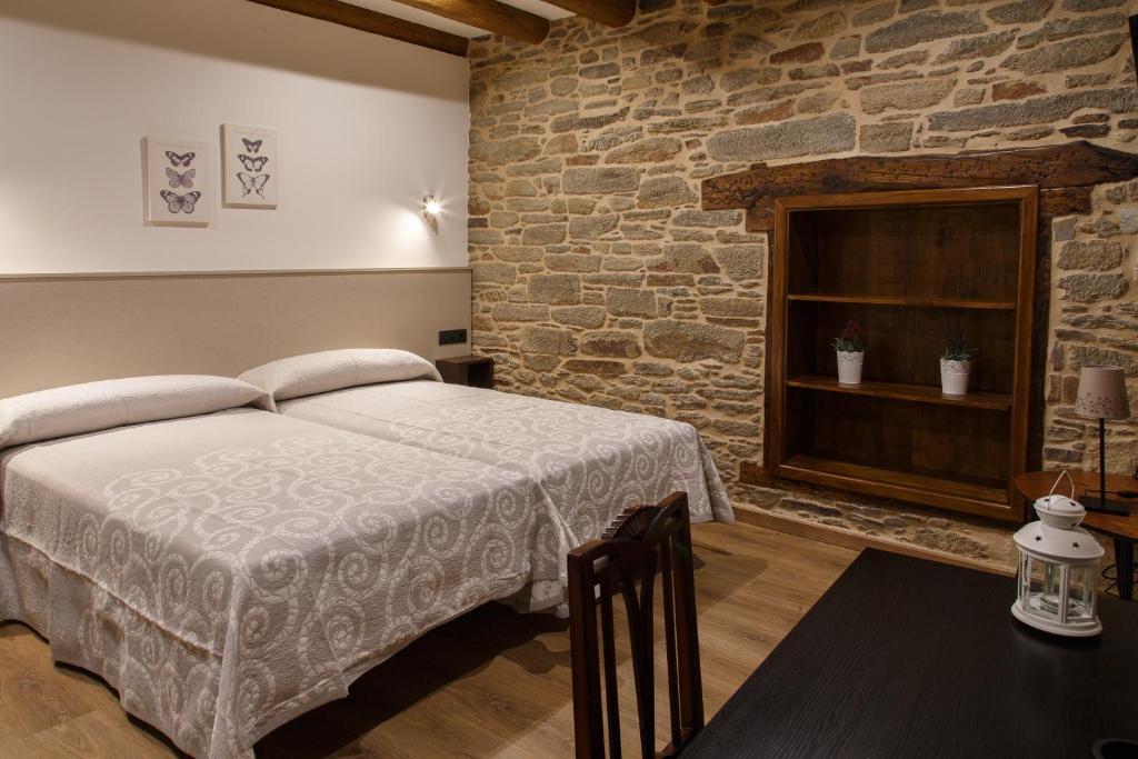 Cama o camas de una habitación en Casa Baran