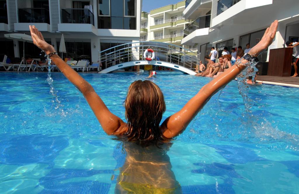 Бассейн в Oba Star Hotel - Ultra All Inclusive или поблизости