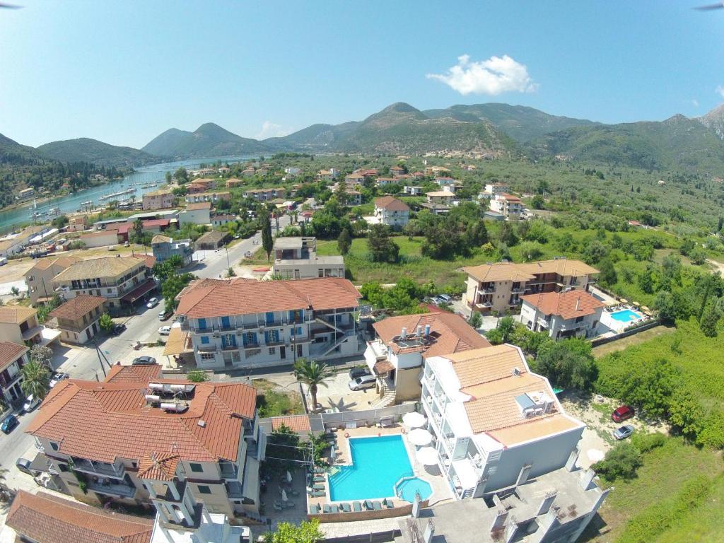 A bird's-eye view of Aggelos Apartments