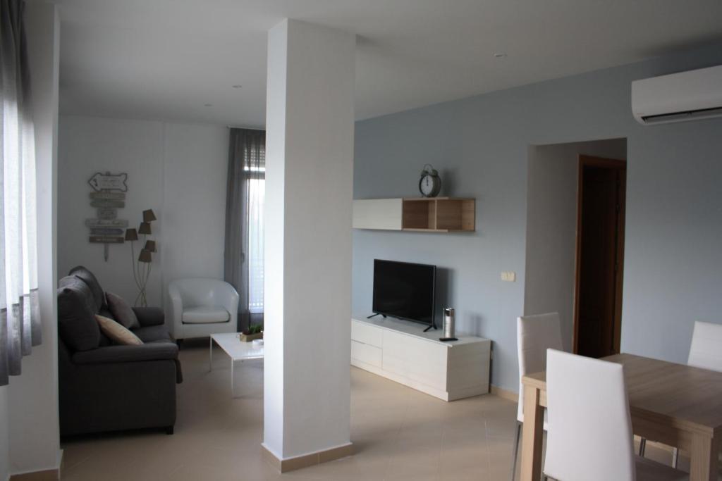 A seating area at AR Apartamentos