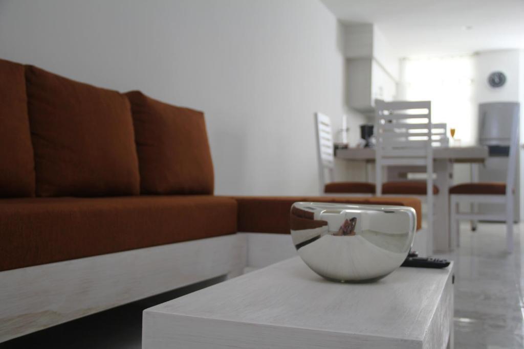 Zona de estar de Cantabria House Suites
