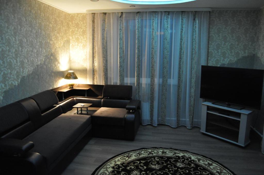 Гостиная зона в Guest House Baykalskiy Ochag