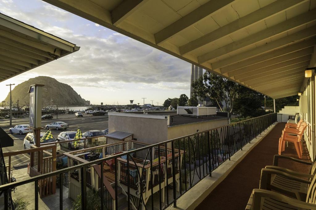 A balcony or terrace at Bayfront Inn