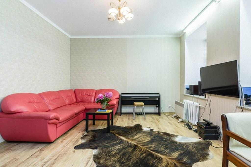 Гостиная зона в Apartment on Griboedov Kanal 72
