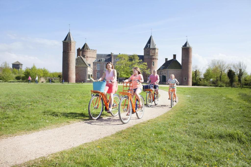 Vélo sur le terrain de l'établissement Stayokay Domburg ou dans les environs