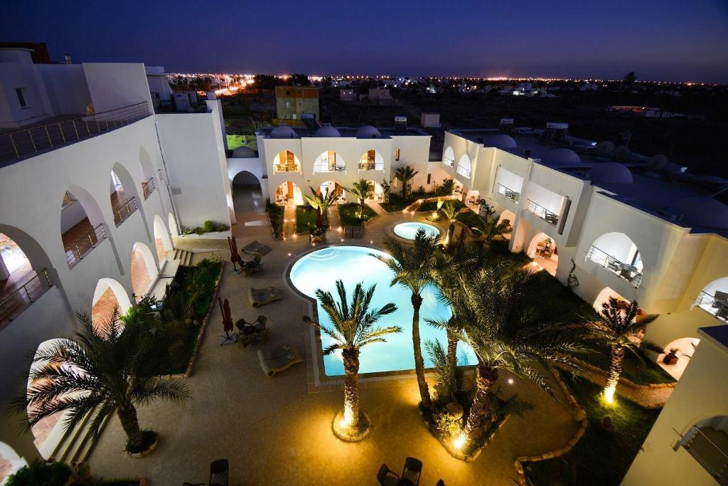 A view of the pool at Palm Djerba Appartments or nearby