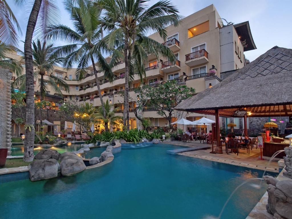 The swimming pool at or near Kuta Paradiso Hotel