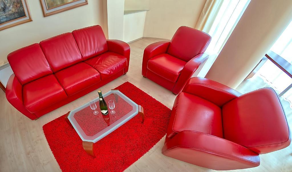 Гостиная зона в Hotel Niski Cvet