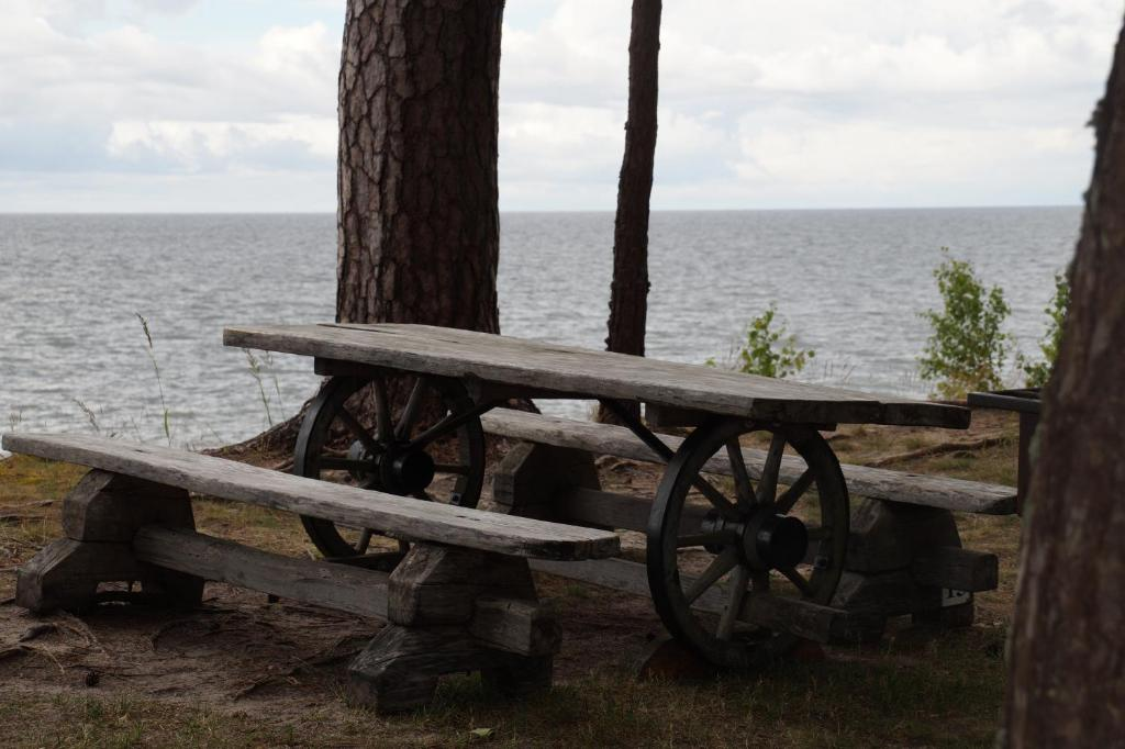 A general sea view or a sea view taken from the campground