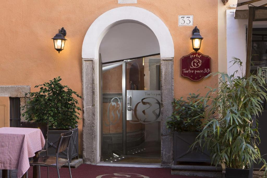 Hotel Teatro Pace Rome, Italy
