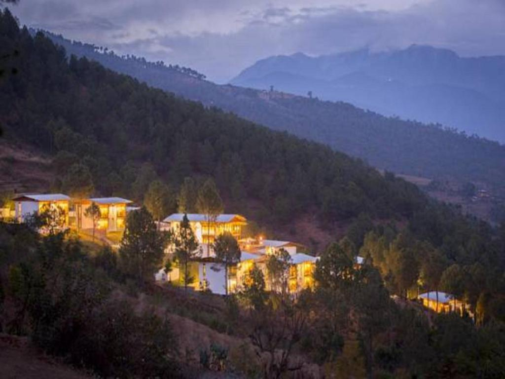 A bird's-eye view of Dhensa Boutique Resort