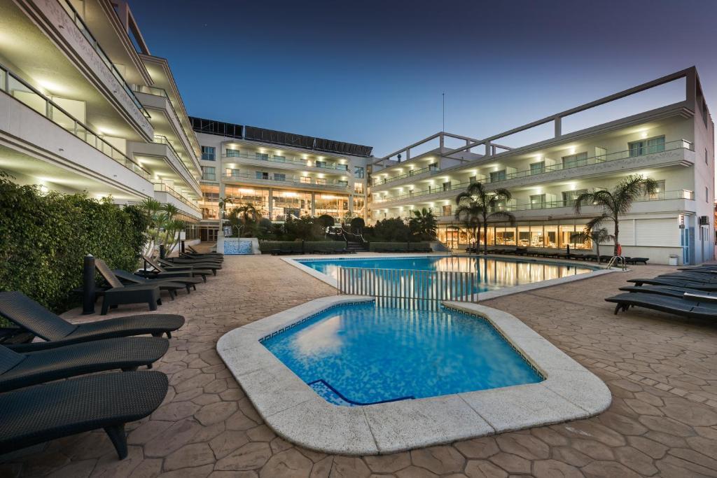The swimming pool at or near Hotel Sun Palace Albir & Spa