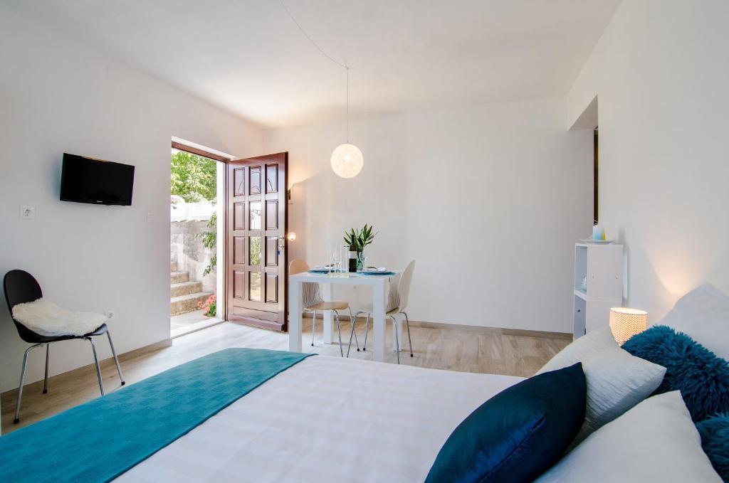Krevet ili kreveti u jedinici u objektu Studio apartment Stella