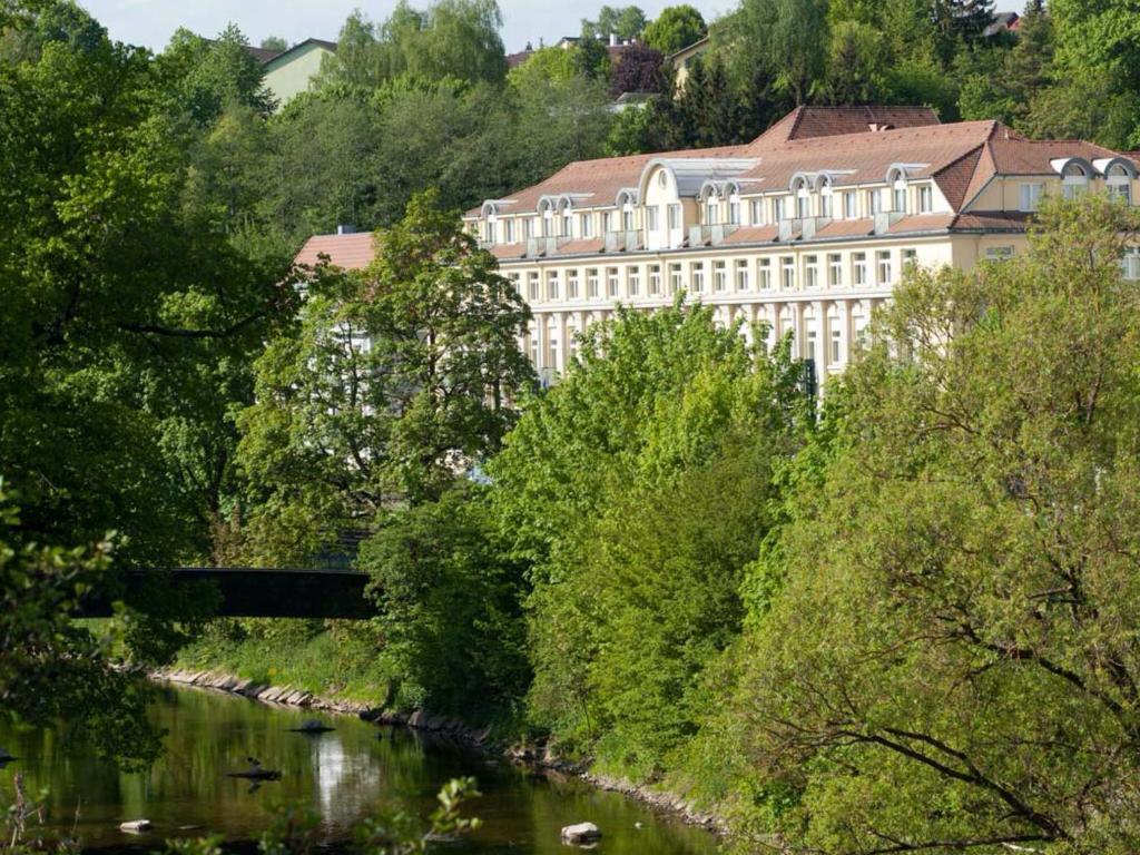 Een luchtfoto van Wyndham Garden Donaueschingen
