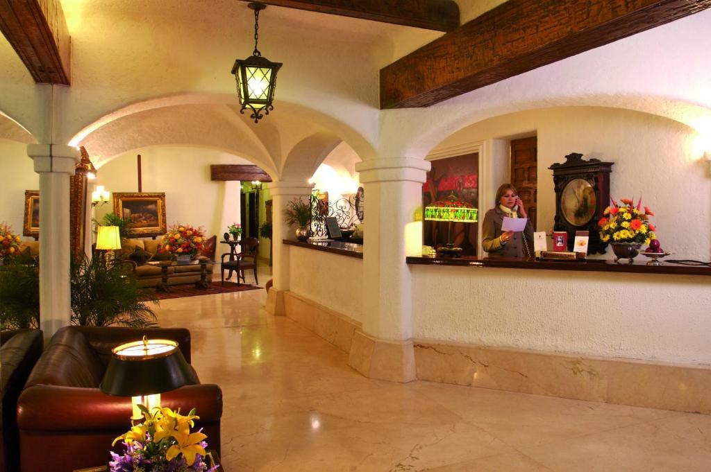 The lobby or reception area at Antara Hotel
