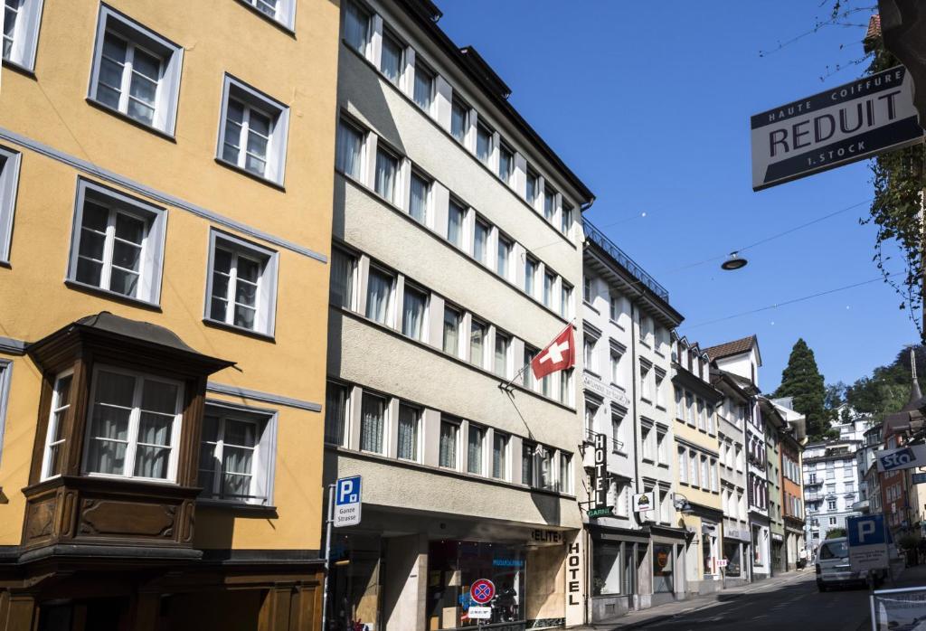 Hotel Elite St. Gallen, Switzerland