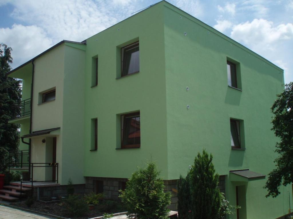 Budova, kde se apartmán nachází