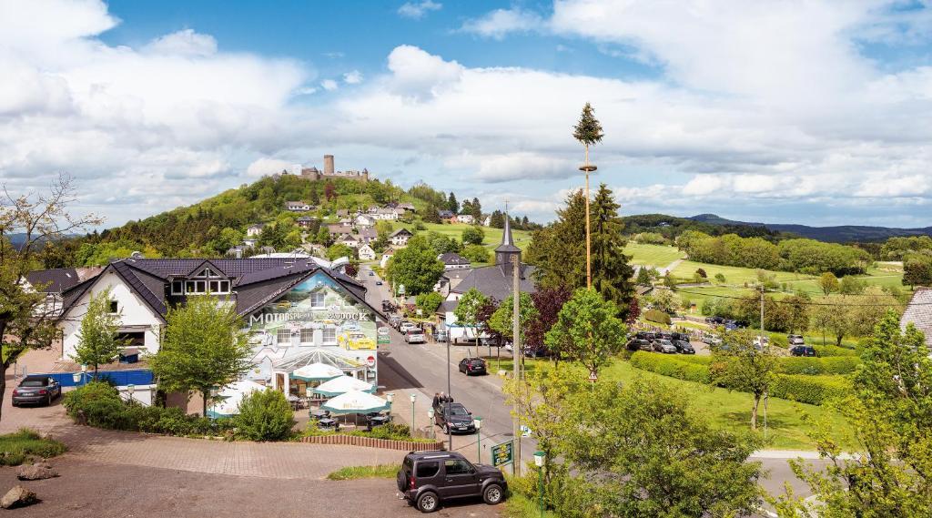A bird's-eye view of Motorsport Hotel