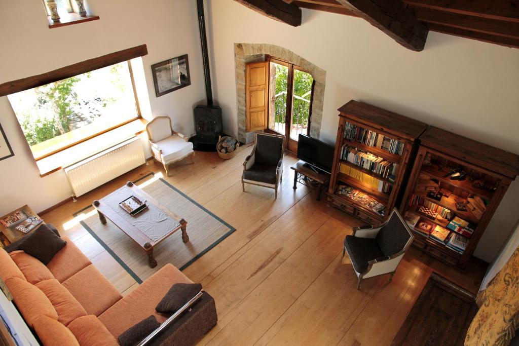 Zona de estar de Casa Grande Del Acebal