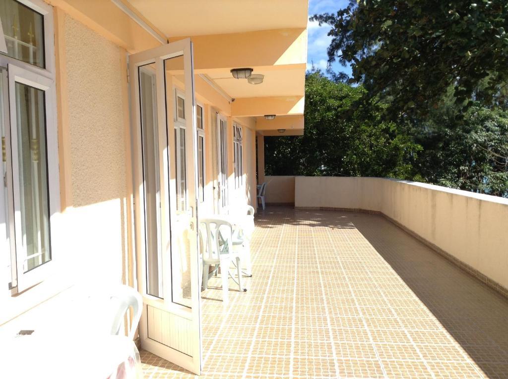 Balkón nebo terasa v ubytování ZZK Flats