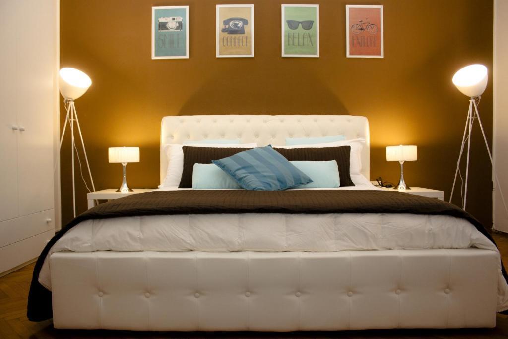 Cama o camas de una habitación en Rio Venice
