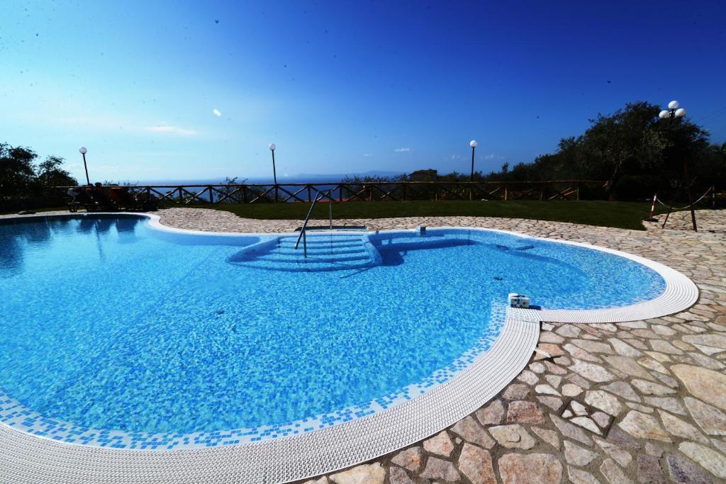 The swimming pool at or near Johanna Park Hotel
