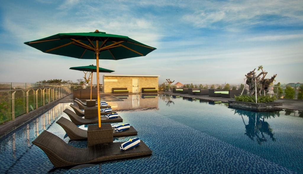 The swimming pool at or close to H Sovereign Bali