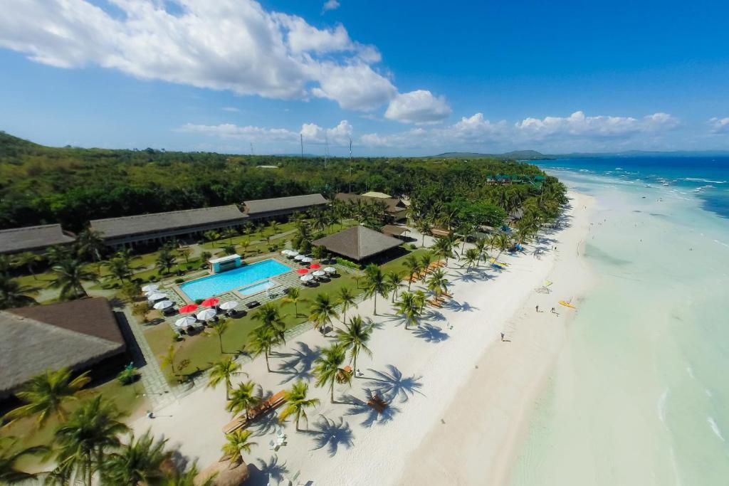 A bird's-eye view of Bohol Beach Club
