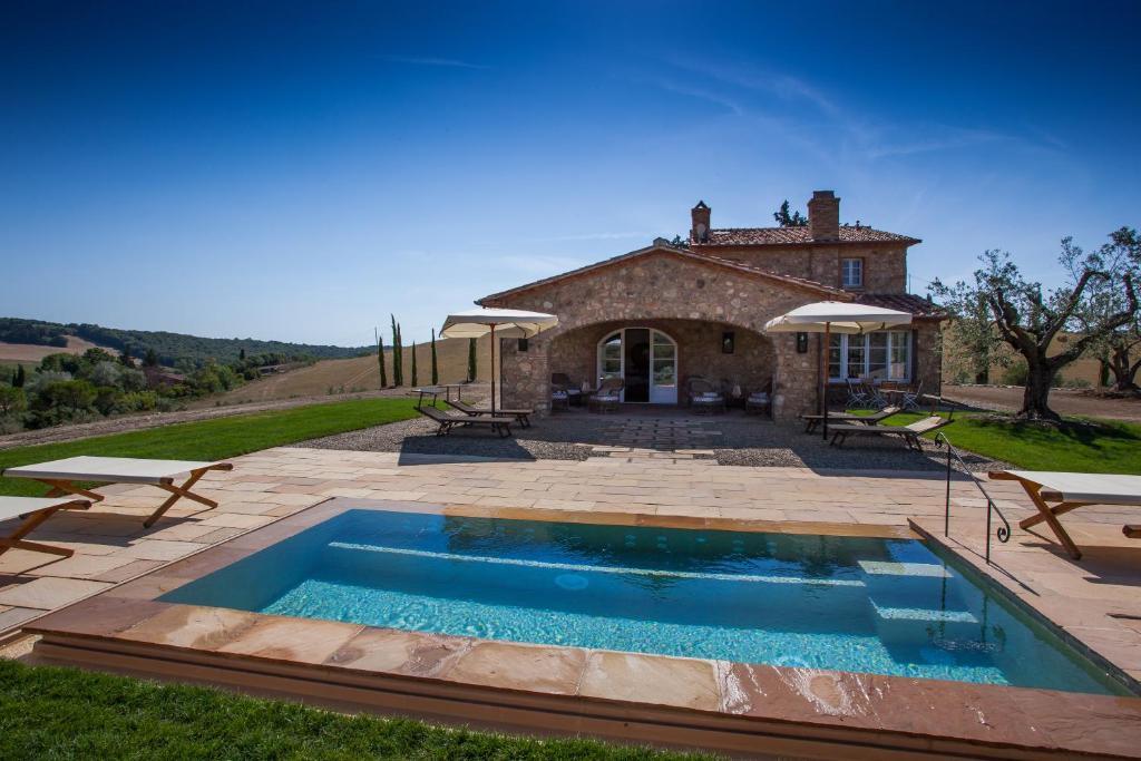 Villa La Salina游泳池或附近泳池