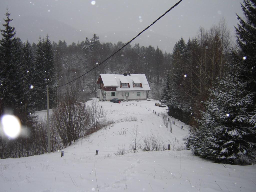 Apartment Park Crni Lug during the winter