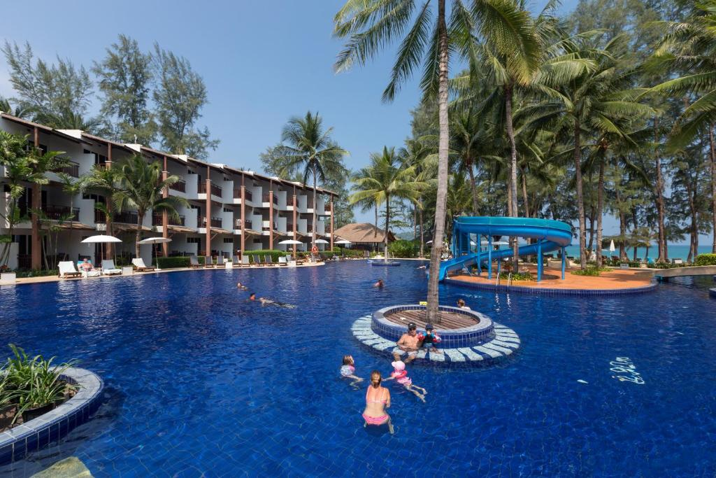 The swimming pool at or near Sunwing Bangtao Beach