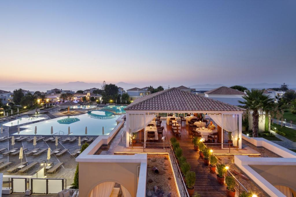 Μπαλκόνι ή βεράντα στο Neptune Hotel-Resort, Convention Centre & Spa