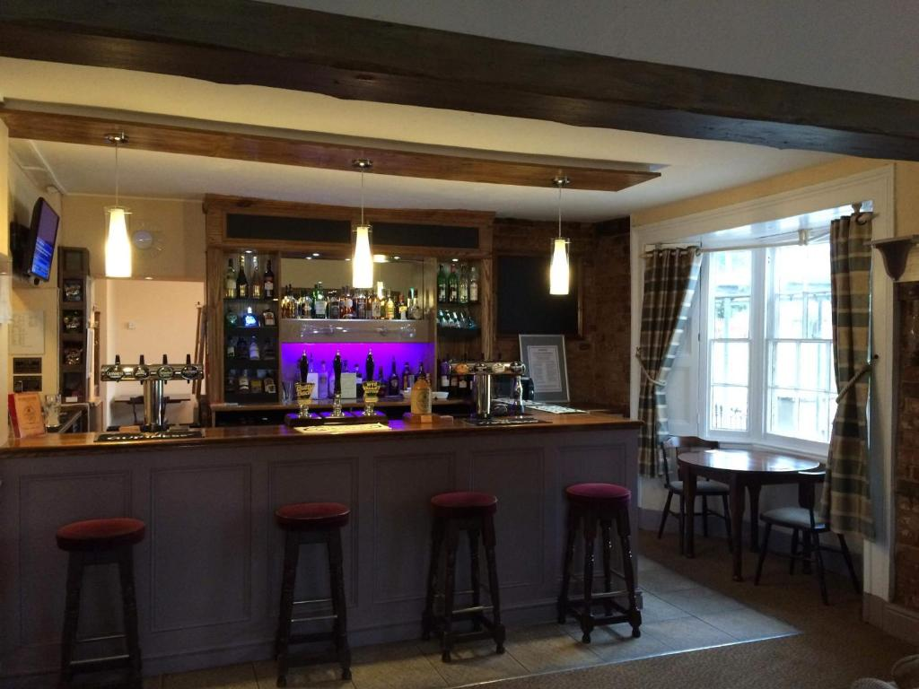 The lounge or bar area at The Chase Inn