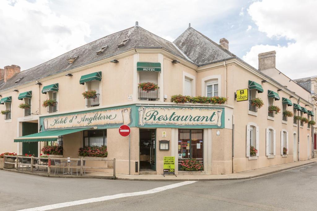Logis Hotel d'Angleterre Saint-Calais, France