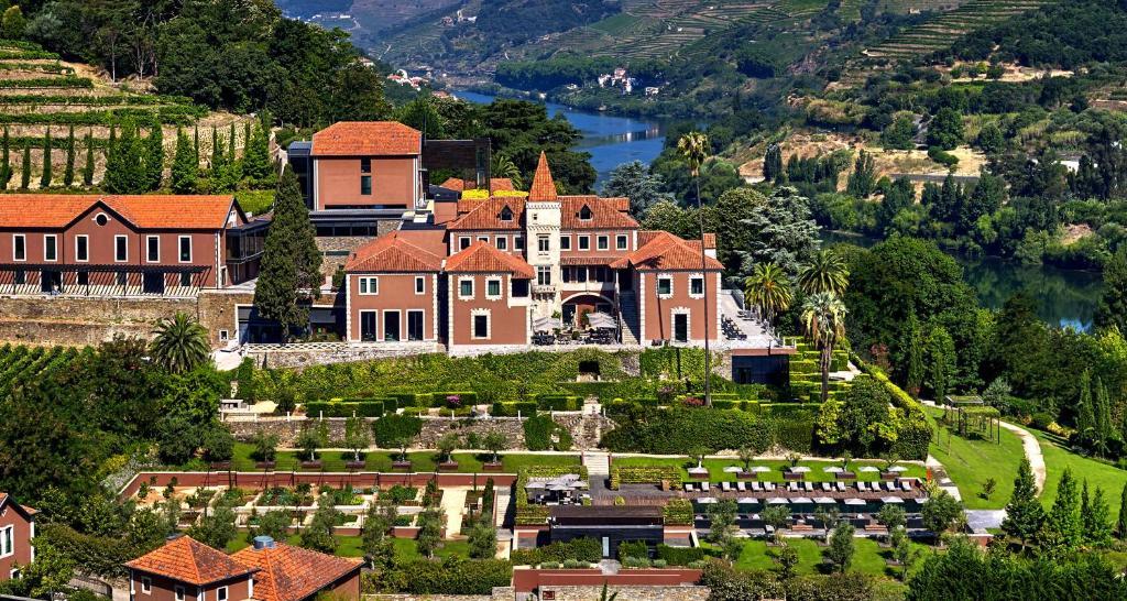 Six Senses Douro Valley с высоты птичьего полета