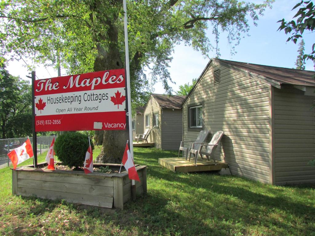 The Maples Cottages in Port Elgin