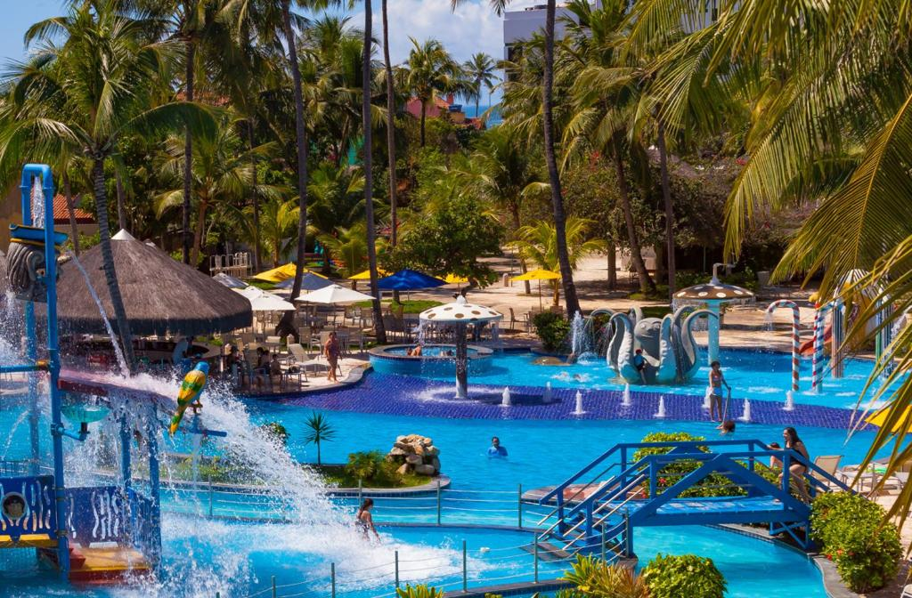 The swimming pool at or close to Matsubara Acqua Park Hotel